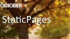 #9 October CMS - Static Pages. Страница блога